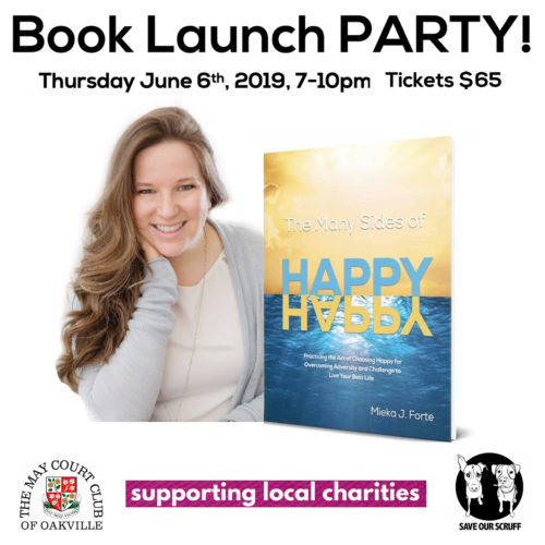 Book Launch Party Thursday June 6th, 2019